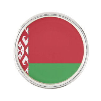 Patriotic Belarusian Flag Lapel Pin