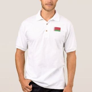Patriotic Belarusian Flag Polo Shirt