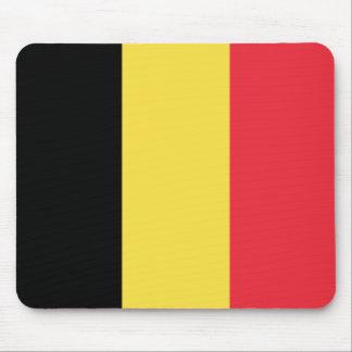 Patriotic Belgian Flag Mouse Pad
