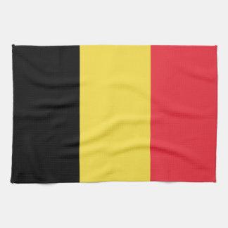 Patriotic Belgian Flag Tea Towel