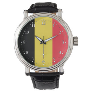Patriotic Belgian Flag Watch