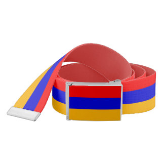 Patriotic Belt with flag of Armenia