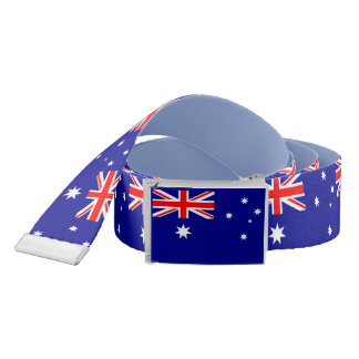 Patriotic Belt with flag of Australia
