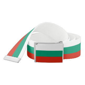 Patriotic Belt with flag of Bulgaria