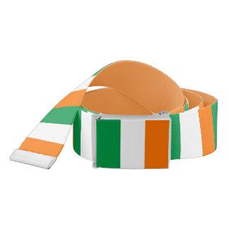 Patriotic Belt with flag of Ireland