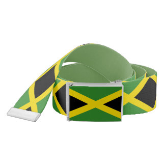 Patriotic Belt with flag of Jamaica