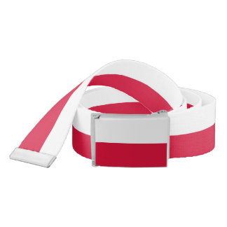 Patriotic Belt with flag of Poland