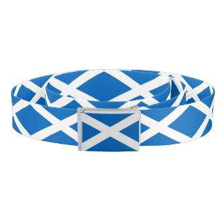 Patriotic Belt with flag of Scotland