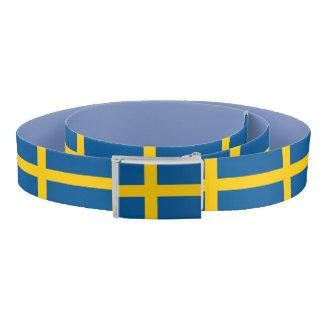 Patriotic Belt with flag of Sweden