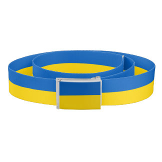Patriotic Belt with flag of Ukraine
