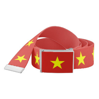 Patriotic Belt with flag of Vietnam