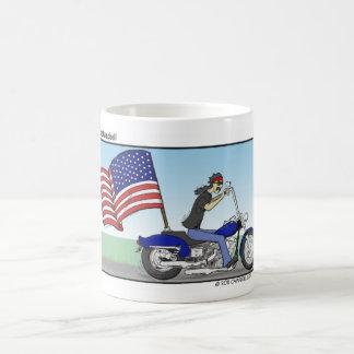 Patriotic Biker Mug