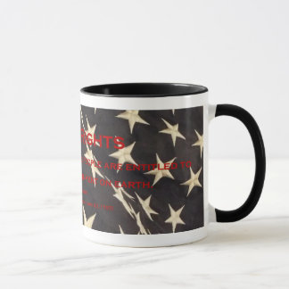 "Patriotic ""Bill of Rights"" Coffee Mug"