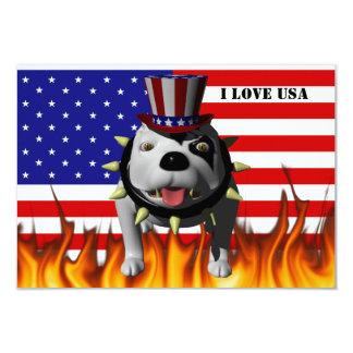 Patriotic BoBo 3 Custom Invites