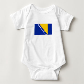 Patriotic Bosnia Herzegovina Flag Baby Bodysuit