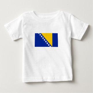 Patriotic Bosnia Herzegovina Flag Baby T-Shirt