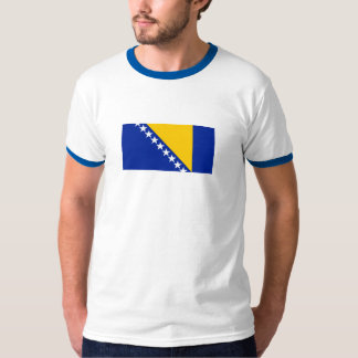 Patriotic Bosnia Herzegovina Flag T-Shirt