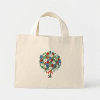 Patriotic Bouquet Mini Tote Bag