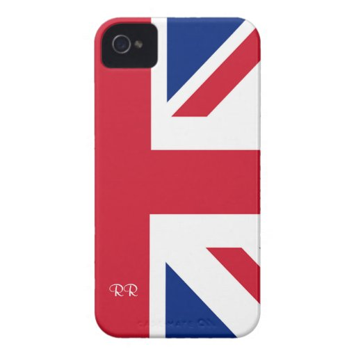 Patriotic British Union Jack On Blackberry Bold Blackberry Bold Covers
