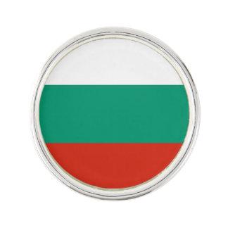Patriotic Bulgarian Flag Lapel Pin