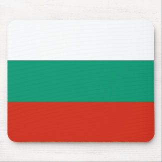 Patriotic Bulgarian Flag Mouse Pad