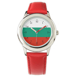 Patriotic Bulgarian Flag Watch