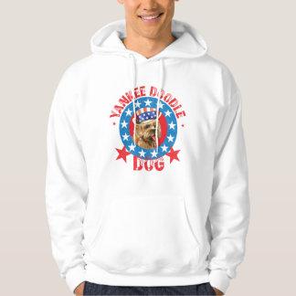 Patriotic Cairn Terrier Hoodie