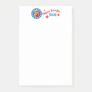 Patriotic Cairn Terrier Post-it Notes