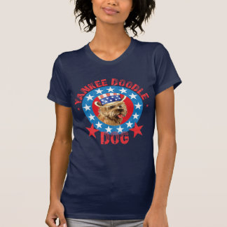 Patriotic Cairn Terrier T-Shirt