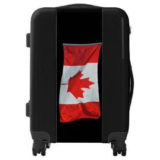 Patriotic Canadian Flag Luggage