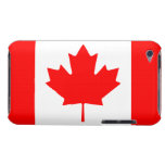 Patriotic Canadian Maple Leaf Flag iPod Touch 4G iPod Case-Mate Case