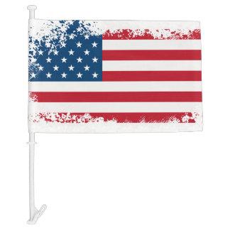 Patriotic Car Flag