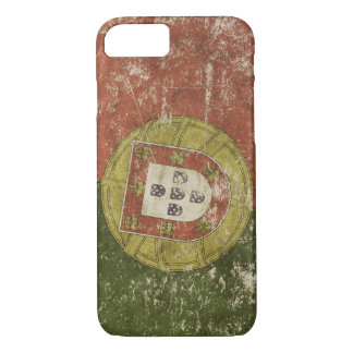 Patriotic case with flag of Portugal