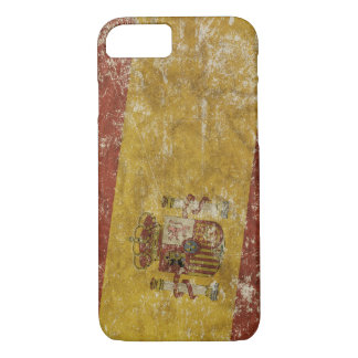 Patriotic case with flag of Spain
