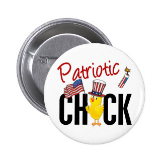Patriotic Chick Buttons