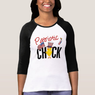 Patriotic Chick T-shirts