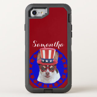 Patriotic Chihuahua OtterBox iPhone 7 Case