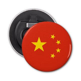 Patriotic Chinese Flag Bottle Opener