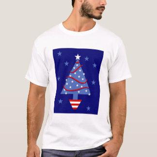 Patriotic Christmas Tree T-Shirt
