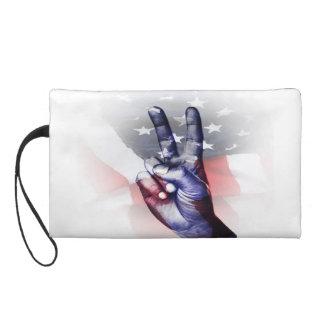 Patriotic Clutch Wristlet Clutch