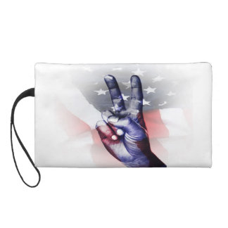 Patriotic Clutch Wristlets