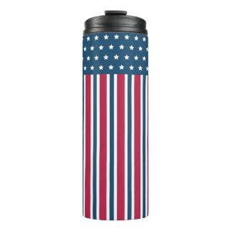 Patriotic Coffee Tumbler Thermal Tumbler
