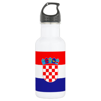 Patriotic Croatian Flag 532 Ml Water Bottle