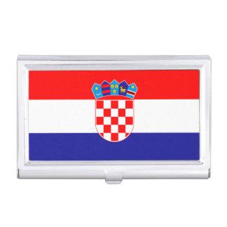 Patriotic Croatian Flag Business Card Holder