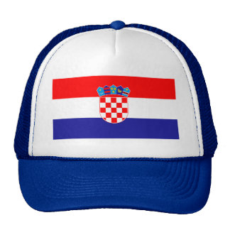 Patriotic Croatian Flag Cap