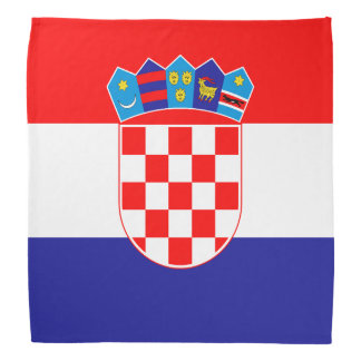 Patriotic Croatian Flag Kerchief