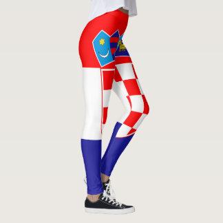 Patriotic Croatian Flag Leggings