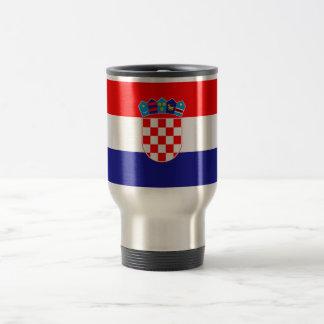 Patriotic Croatian Flag Travel Mug