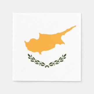 Patriotic Cyprus Flag Disposable Napkins