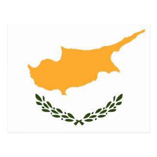 Patriotic Cyprus Flag Postcard